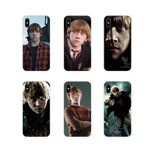 Accessories Phone Shell Covers For Motorola Moto X4 E4 E5 G5 G5S G6 Z Z2 Z3 G3 G2 C Play Plus Ron Weasley Harry potter(China)