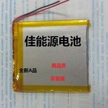 3,7 в полимерный литиевый аккумулятор 474355 1500 мАч диктофон беспроводная гарнитура перезаряжаемая литий-ионная батарея