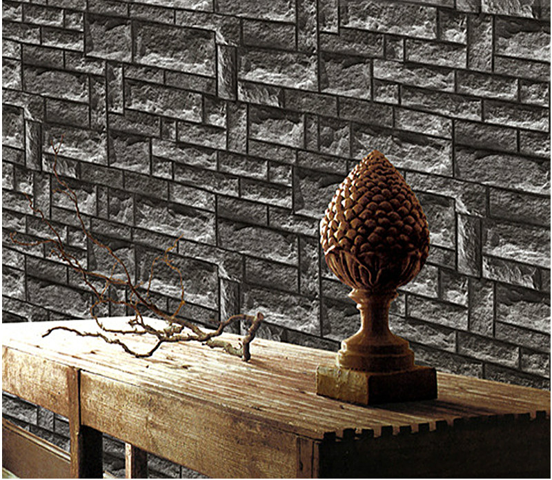 Retro 3D wallpaper imitation marble brick wall coverring restaurant bar stone Decor Chinese Style living room bar coffee shop custom photo wallpaper 3d retro wheel imitation brick wall wallpaper mural bar restaurant lounge hotel wallpaper