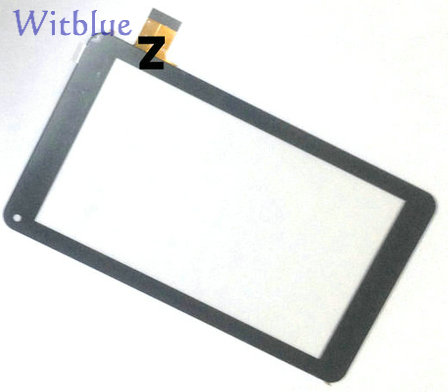 New Capacitive touch screen touch panel digitizer glass replacement for 7' inch TurboPad 701 Tablet 186*104mm Free Shipping led flash fill light selfie stick with rear mirror lighting bluetooth monopod for iphone x 8 samsung huawei xiaomi android phone