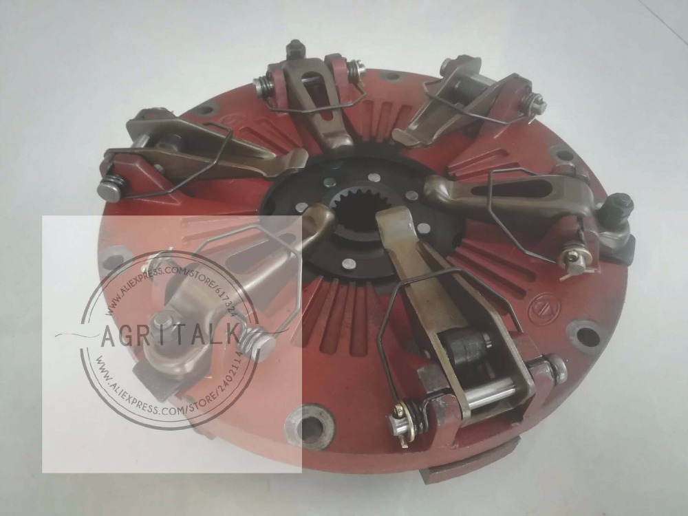 TB550.211A, the 10 inch clutch with PTO disc for Foton FT404 FT454 TB504 tractor, please check the diameter of your clutch foton lovol tractor parts ft404 ft454 the main pressure disc part number ft400 21b 113