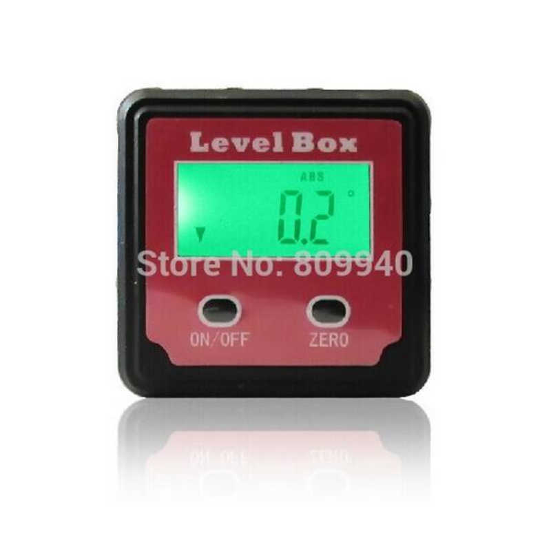 4X90° Level Box Gauge Digital Protractor Magnetic Inclinometer Angle Finder USA