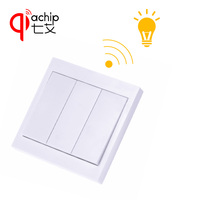 433Mhz Universal Wireless Remote Control Switch AC 110V 220V 1CH Relay Receiver And 433 Mhz Wall