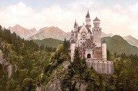 24X36 INCH/ARTE DELLA SETA POSTER/Castello di Neuschwanstein Schloss Neuschwanstein castle Germania