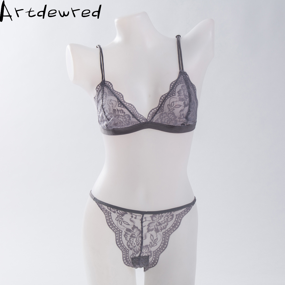32-38 AB Cup Intimates Hollow out Lace   Bra   And   Briefs   France Sexy Women Ultra-thin Underwear   Bra     Set   Sexy Lingerie   Bra   Up Sofe