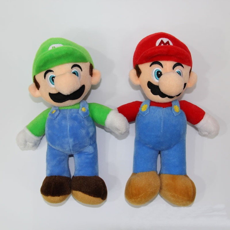 Dashing Hot Sale 25cm Super Mario Stuffed Toys Best Birthday Christmas Gift For Kids 2 Color Plush Doll Available Making Things Convenient For The People