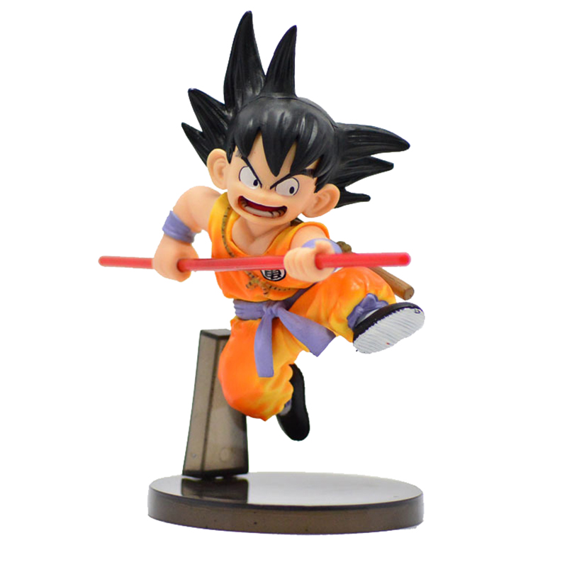 Action & Toy Figures Sensible Dragon Ball Saiyan Small Cute Son Goku Action Figure Sun Wukong Doll Anime Toy Puppet Children Kids Toys Present Desk Decoration