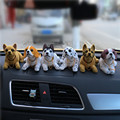 New Car Styling  Cute Bobblehead Dog Doll Car Nodding Dog Shakes His Head Shaking Dog For Car Decoration Furnishing Articles