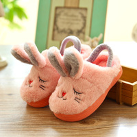 Lovely Cartoon Toddler Baby Slippers Kids Slippers Boys Girls Cotton Shoes Winter Warm Comfortable Children Home