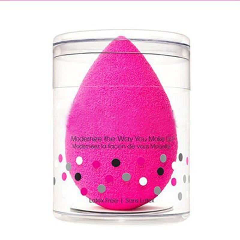 Forma de gota de água cosméticos puff maquiagem esponja cosméticos pó fundação corretivo creme compõem blender face foundation 1pcs