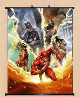 Justice League Movie Comic Anime Art Silk Poster 80x60cm