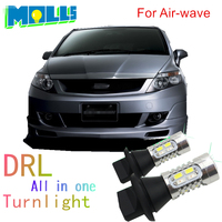 Molls Led 1156 150degree Py21w Bau15s Car Light DRL Daytime Running Light Front Turn Signal All