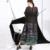[Soonyour] 2106 modelos de verão novo grafite impressão mais solto tamanho grande balanço curto-sleeved dress costura busto more140cm 46791