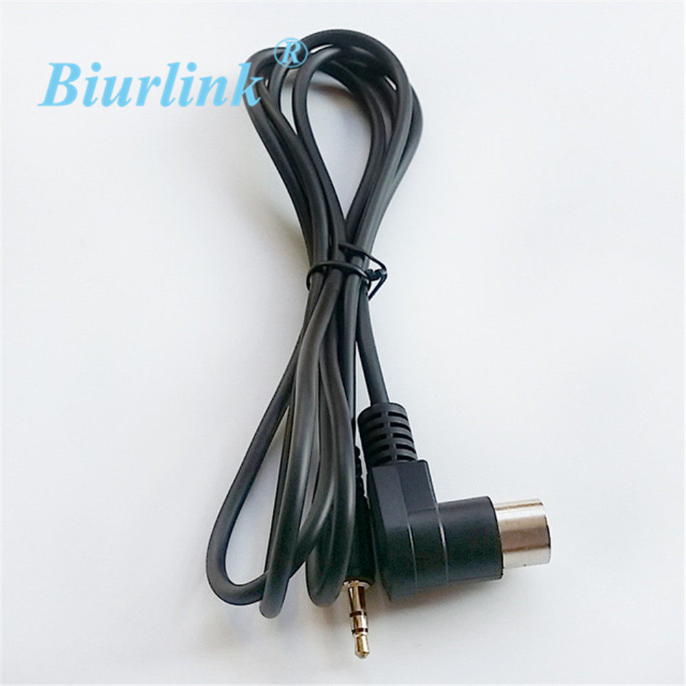 Online Shop Biurlink Car Radio Aux In Rca Audio Cable Adapter For Alpine Cda 9815 Wiring Harness Kcm 123b M Bus 9501 9503 9823 9825 8pin Port
