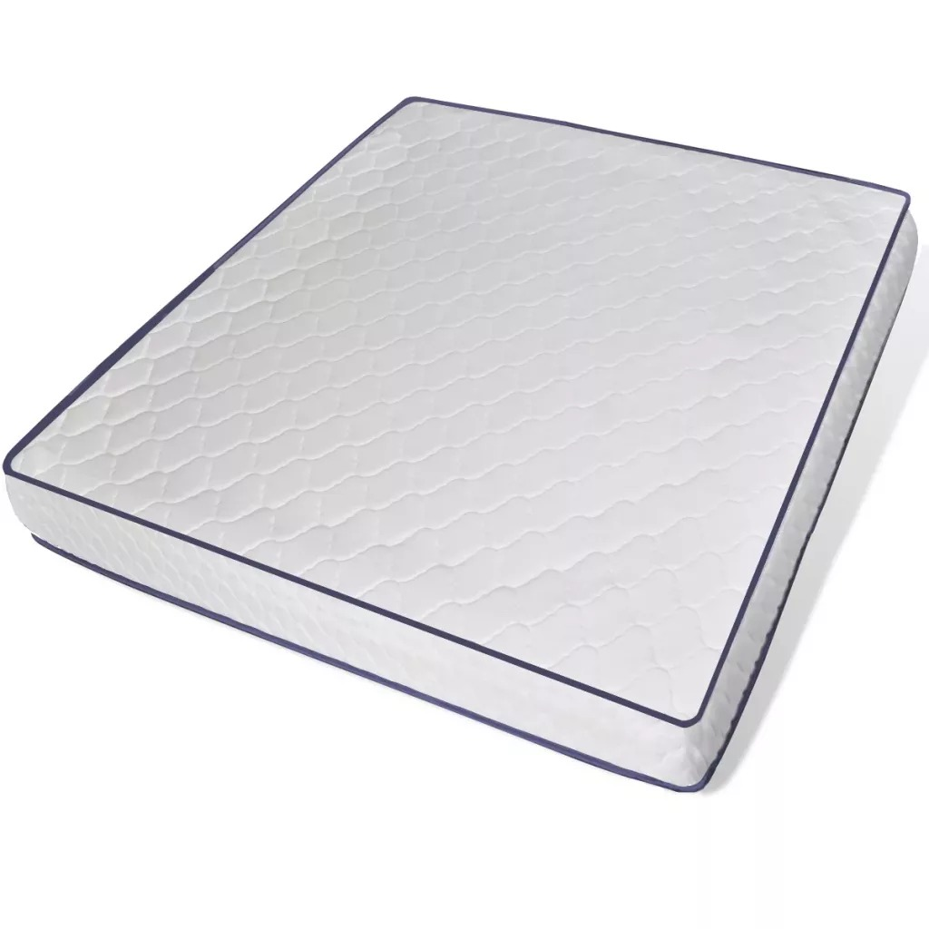 VidaXL Memory Foam Mattress With Shape 200 X 180 X 17 Cm Provide Soft Velvety Sensation And A Comfortable Sleep Experience