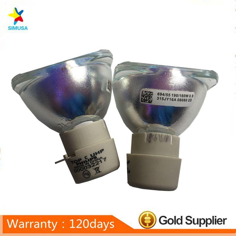 100%Original bare projector lamp bulb 311-8943 / 725-10120 for DELL 1209S 1409X 1609WX 1609X high quality original projector lamp bulb 311 8943 for d ell 1209s 1409x 1510x
