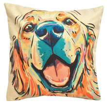 Cute Dog Dachshund Print Pillow cover