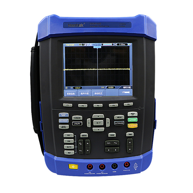 Best Price Hantek DSO8102E Handheld Oscilloscope 2 Channels 100MHz Six in one IP-51 rated for dust drip and shake Factory direct sales