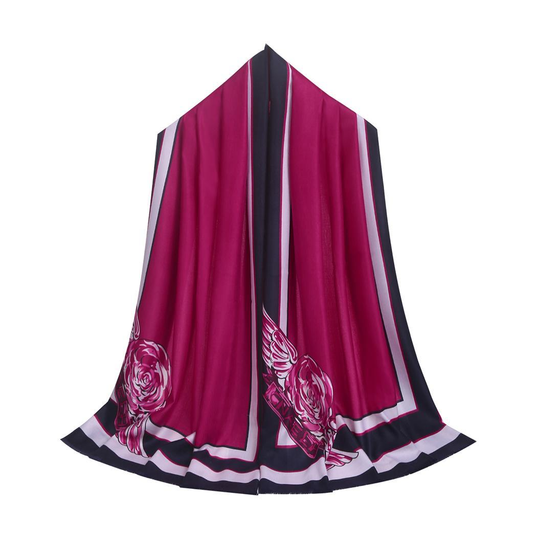 Women Fashion Soft Blanket Print Oversized Wraps Scarf Casual Party Spring Autumn Winter Printed 175 cm