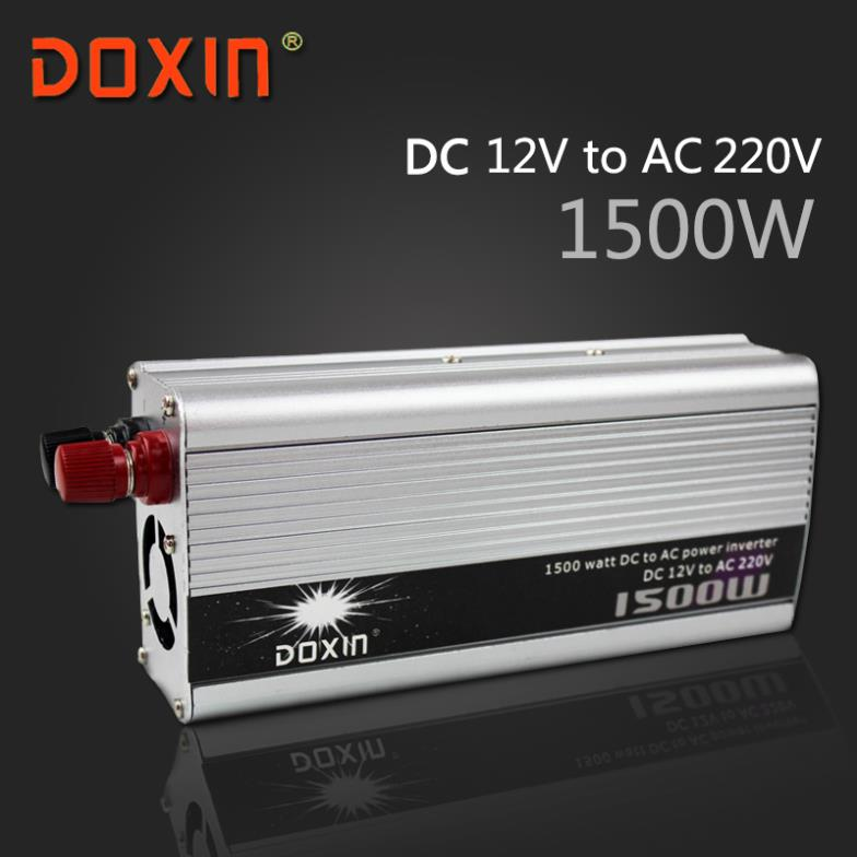 где купить 1500W DC 12V to AC 220V Car Power INVERTER Universal DOXIN ST-N008 дешево