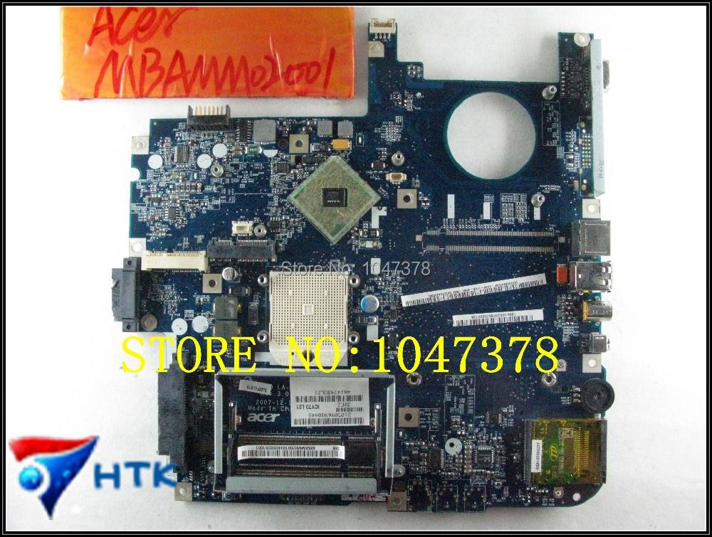 Wholesale  Laptop Motherboard FOR ACER Aspire 7520 7520G LA-3581P (ICW50) MBAMM02001 MB.AMM02.001 100% Work Perfect