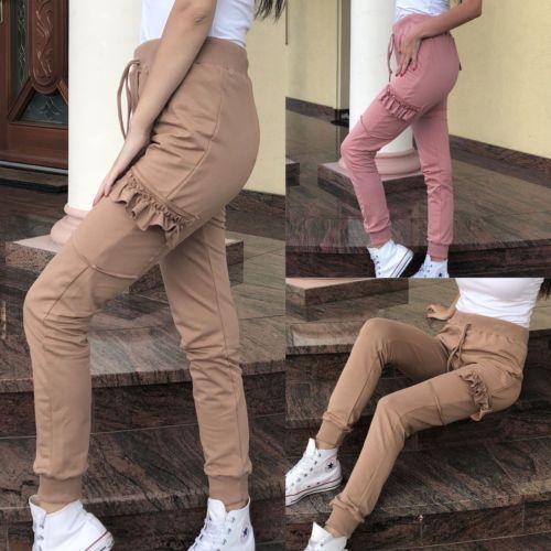 HIRIGIN Newest Hot Women's High Waist Casual Drawstring Elastic Long Pants Ladies Skinny Pencil Trousers