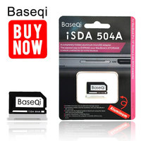 Baseqi Metal Card Reader microSD Adapter For MacBook Pro 15 Retina (Late 2013 onwards) 504A Freeshipping TF Memory Card Reader