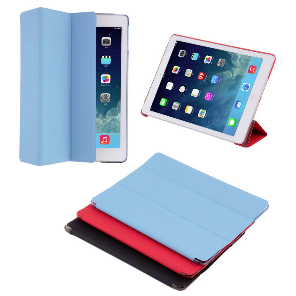 New Smart Case For iPad Air Retina Slim Stand Leather Back Cover Hot Worldwide scolour hot soft gel tpu skin silicone back case cover silk slim clear transparent smart back cover for ipad mini 1 2 3 retina