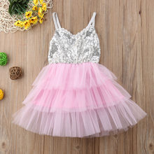 8f1f26573f Compare Prices on Sequin Pink Gold Dress Tulle- Online Shopping/Buy ...