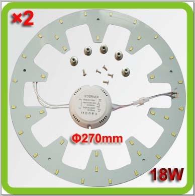 PRODEM марка 220В 230В 240В Диа270мм 2000лм 18Вт Светодиодная круговая панель Светодиодный круглый светодиод Techo del LED заменяет 40Вт старую 2D трубку