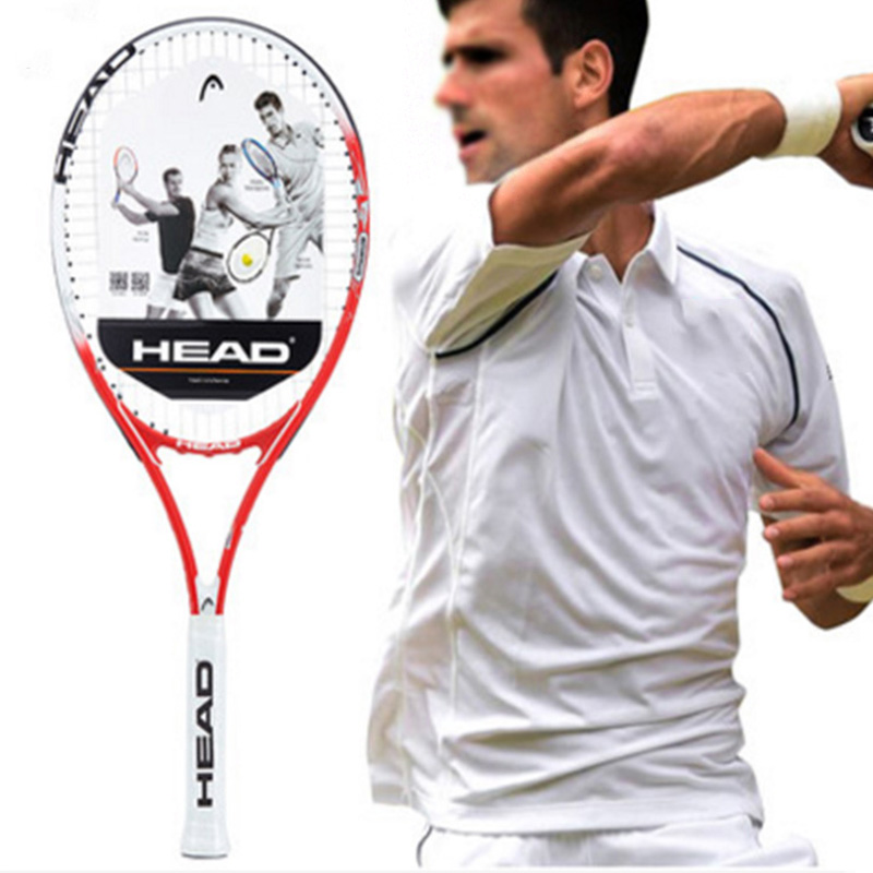Head Tennis Racket Professional Padel Racquet Sports Original Tenis Bag String Overgrip Dampener For Men Women