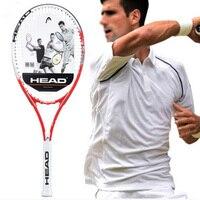 Head Tennis Racket Professional Padel Racquet Sports Original Tenis Bag String Overgrip Dampener For Men Women