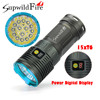 High Quality Supwildfire 50000LM 15 X XM L T6 LED Power Mode Digital Display Hunting Flashlight