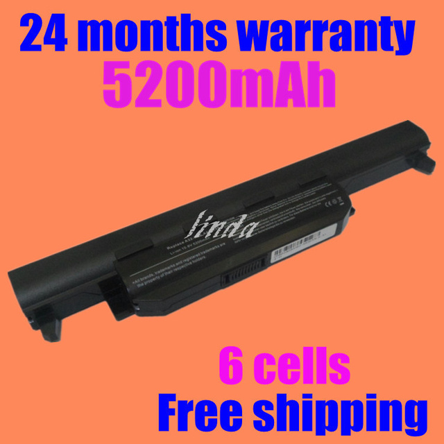 JIGU Laptop Battery For Asus X55U X55C X55A X55V X55VD X75A X75V X75VD X45VD X45V X45U X45C X45A U57VM U57A U57V U57VD R700VM