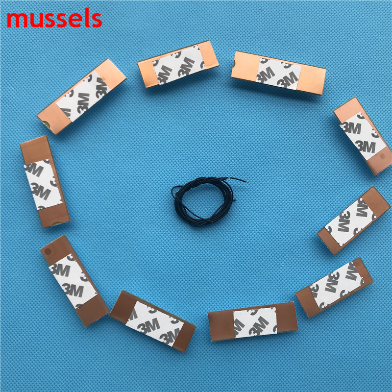 """Image 4 - 32"""" 65"""" inch TV Led Strips 3v Bulbs Diodes Optical Concave Lens Fliter Backlight w/ cable Double side Tape 10pcs/pack 2 bags/lot-in Industrial Computer & Accessories from Computer & Office"""