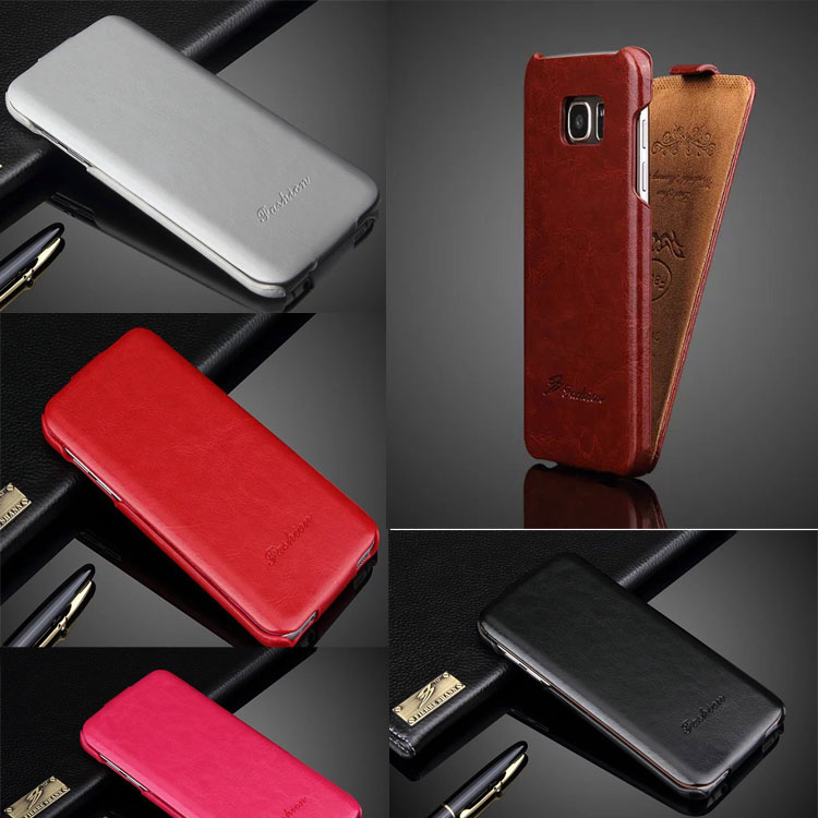 Luxury Back Cover for samsung s7 case Fashion PU64 pattern Leather Flip for Samsung Galaxy S7 edge case