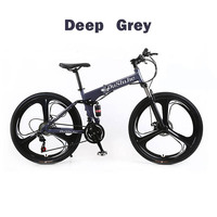 21 24 27 Speed 26 Inch Three Rounds Double Disc Double Shock Speed Mountain Bike MTB