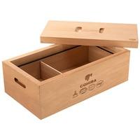 Luxury No Paint Eco Friendly Pure Cedar Wood Cigar Humidor Nice Storage Box Log Cigar Alcoholize Box