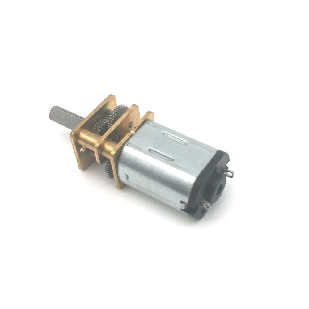10pcs Rated DC3V  10*12*15mm N20 Mini DC Motor  Model Aircraft Small Motor