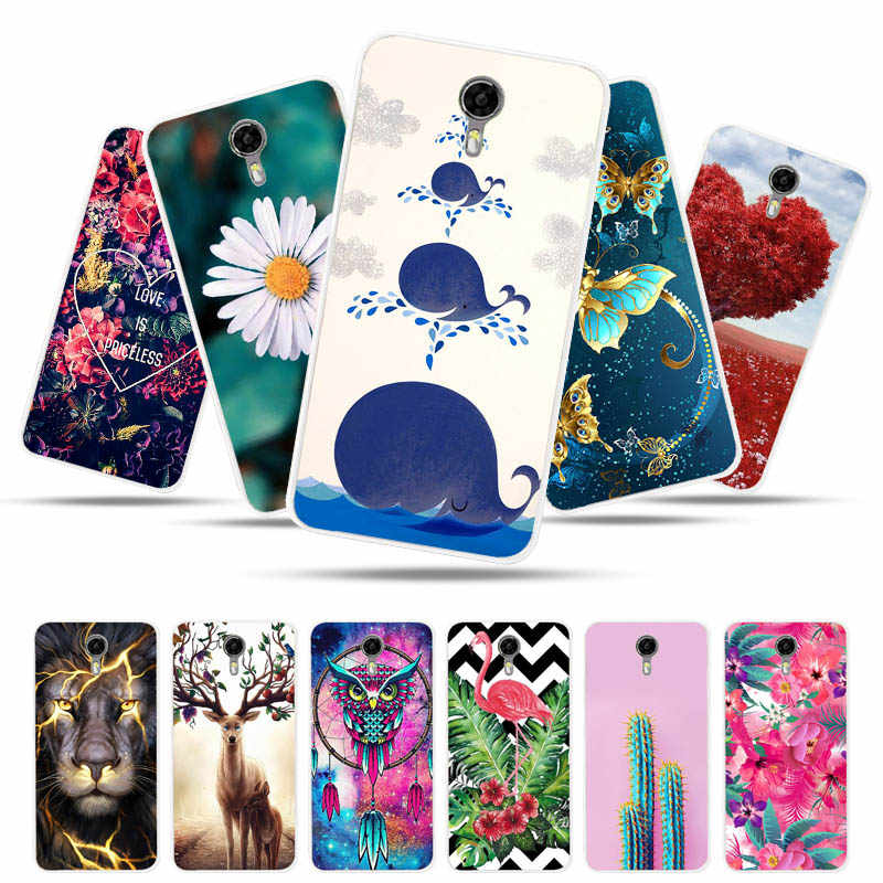 Bolomboy Painted Case For Ulefone Power 2 Case Silicone Soft TPU Cases For Ulefone Power 2 Cover Wildflowers Animal Bags 5.5inch