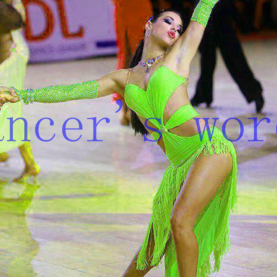 New style latin dance costume sexy stones tassel latin dance dress for women latin dance competition dresses A35 S-4XL