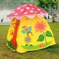 Tendas de pano tradicional brinquedos dos desenhos animados esportes ao ar livre de lazer casa jogo tenda infantil