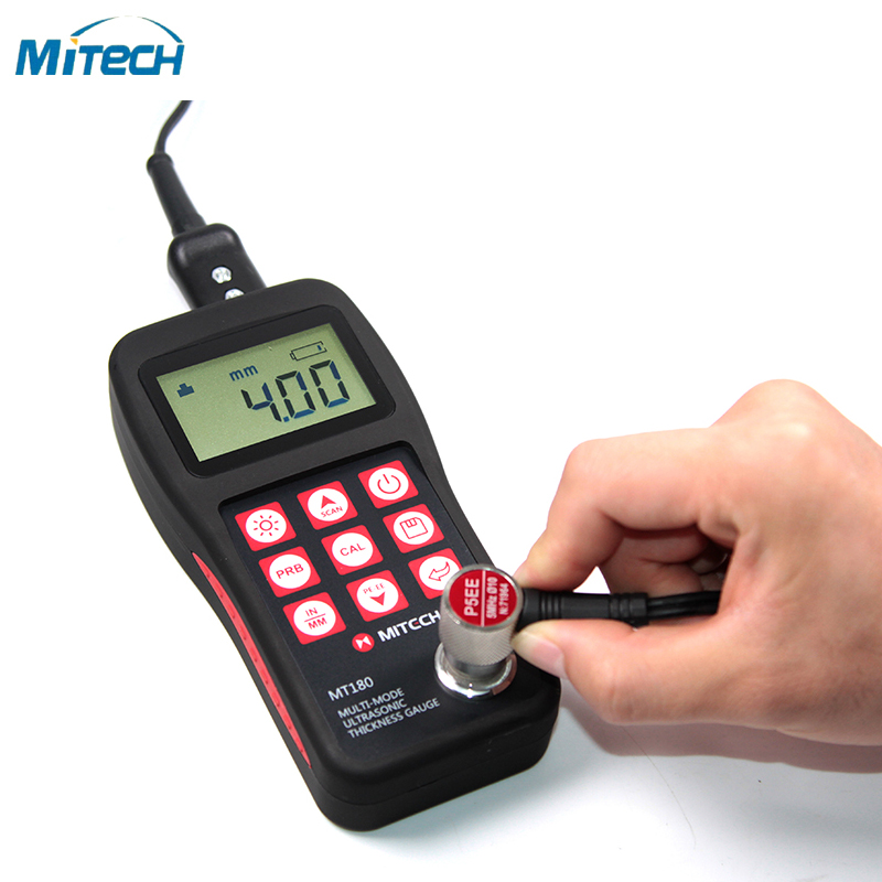 Multi Through Paint Ultrasonic Thickness Gauge 3 30 mm MT180
