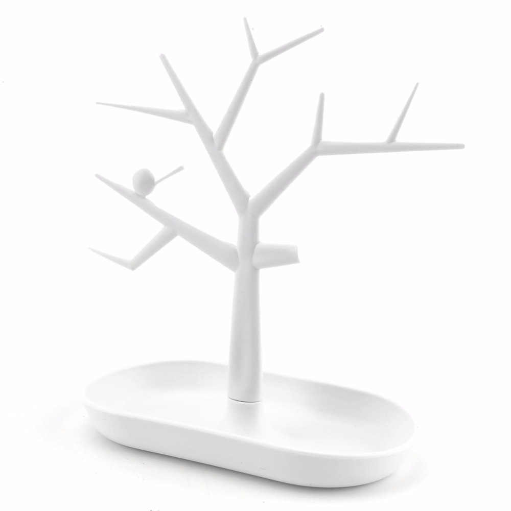 Jewelry Necklace Ring Earring Tree Stand Display Organizer stand Holder Show Rack Stand Jewelry Earrings Organizers Showcase &15