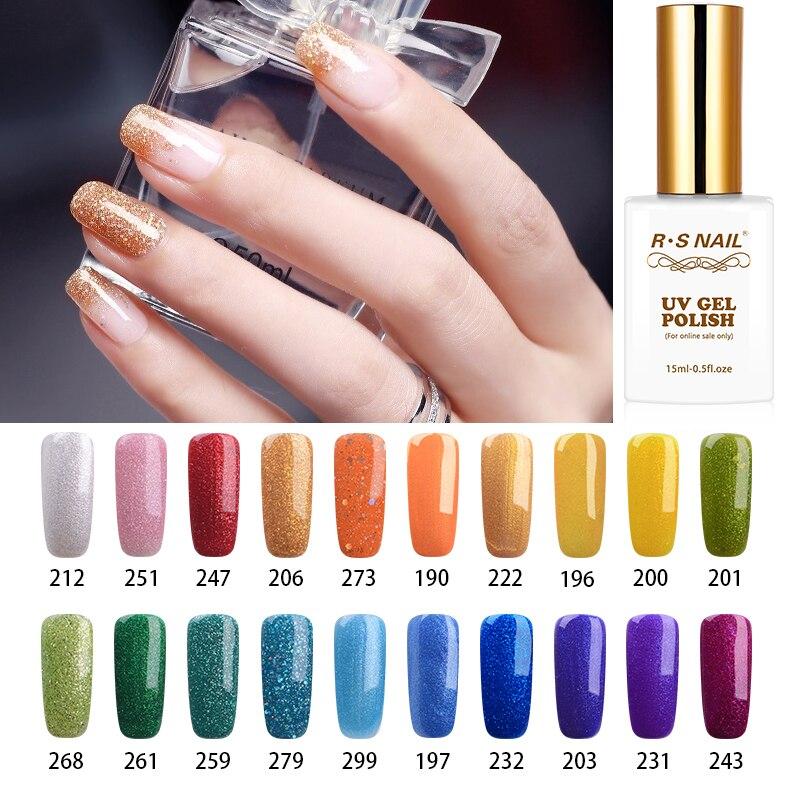 Rs Nail: Aliexpress.com : Buy RS NAIL 15ml 308 Colors Nail Art