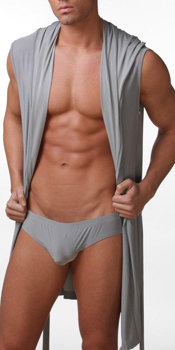 2018 Hot Men Sexy Robe White Gray Brown Men Bath Robe 2018 Hot Sale Top Quality Men S Kimono 2018 Hot Selling Mens Silk