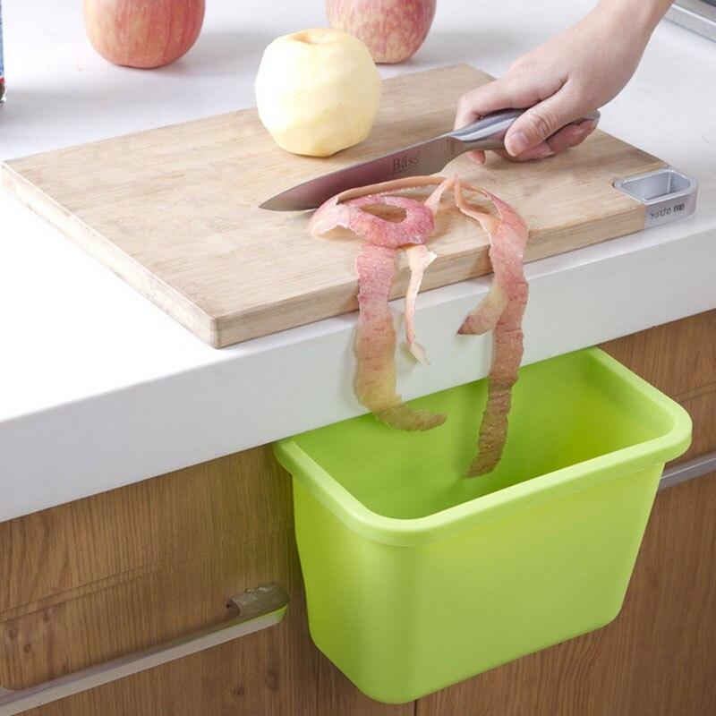 Eco Friendly Poubelle De Cuisine Plastic Waste Bin Kitchen Trash