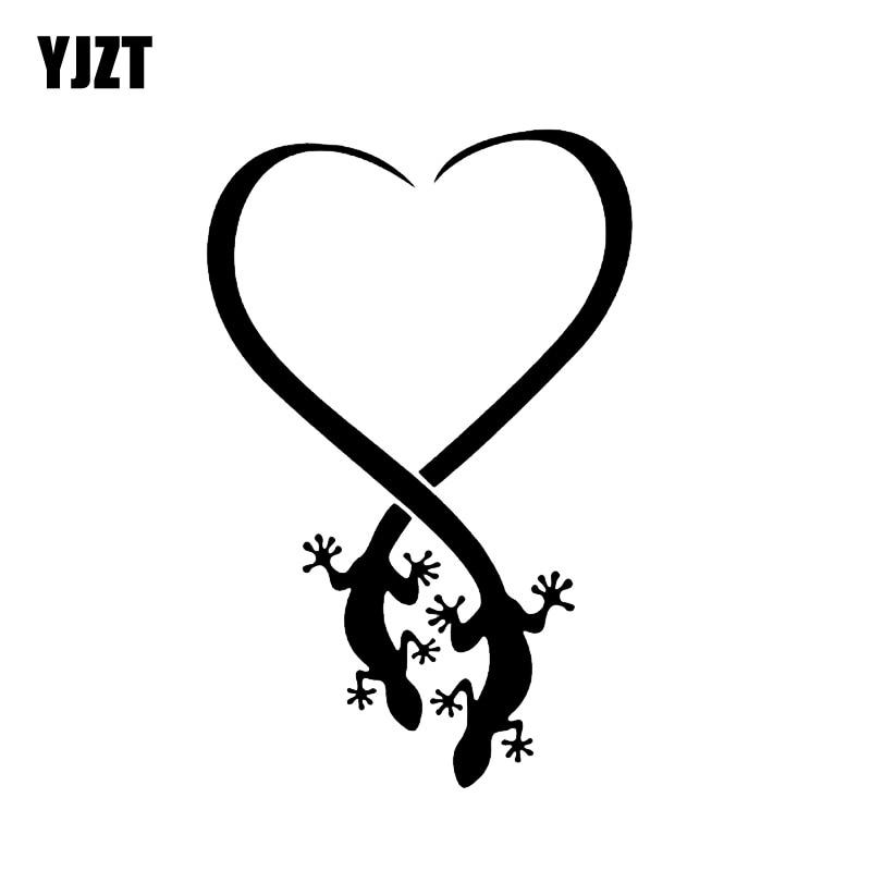 Tribal Cat Tattoo Clip Art Fun Window Bumper Sticker Vinyl Decal 8.3CM x 17.1CM