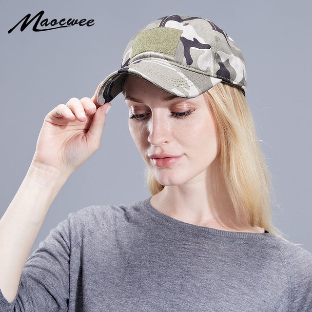 553e1d8cc8eee Unisex Army Military Camouflage Tatical Cap Airsoft Paintball Outdoor  Hunting Baseball Caps Men Multicam Soldier Combat Sun Hat