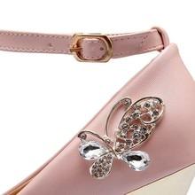 Asumer plus size 34-43 new fashion ankle strap women pumps stiletto high heels wedding shoes large size platform ladies shoes